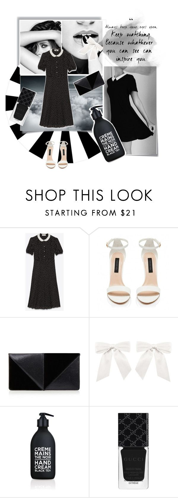 """""""Untitled #112"""" by karimaputri on Polyvore featuring Post-It, Chanel, Yves Saint Laurent, UN United Nude, La Compagnie de Provence and Gucci"""