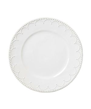 8 Updates on Classic White Dinnerware Interlude Dinner Plate  Looking for whites to mix and match with your vintage pieces? These dolomite dishes won't disappoint with their raised, beaded edges accented with subtle hints of grey.  To buy: $16, anthropologie.com.   Next: Wedgewood Jasper Conran Baroque Dinnerware