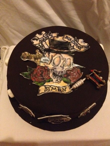 17 Best Images About Tattoo Cakes On Pinterest  Sailor