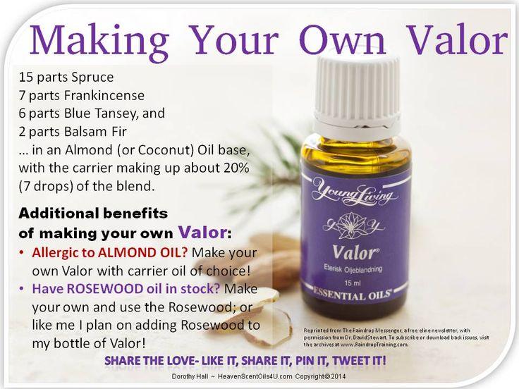 making your own substitute version of valor essential oil blend until back in stock essential. Black Bedroom Furniture Sets. Home Design Ideas