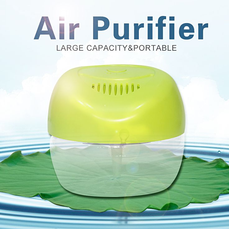 Large Capacity 2150ml Apple-shaped Household Water Air Purifier Portable Purificador De Aire Freshener Air Cleaner KS-03CL #CLICK! #clothing, #shoes, #jewelry, #women, #men