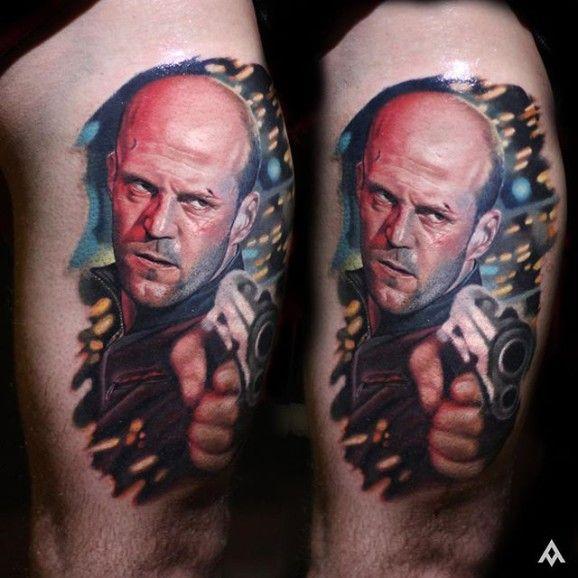 The badass Jason Statham...