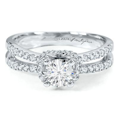 helzberg diamond masterpiece tw engagement ring in gold - Helzberg Wedding Rings