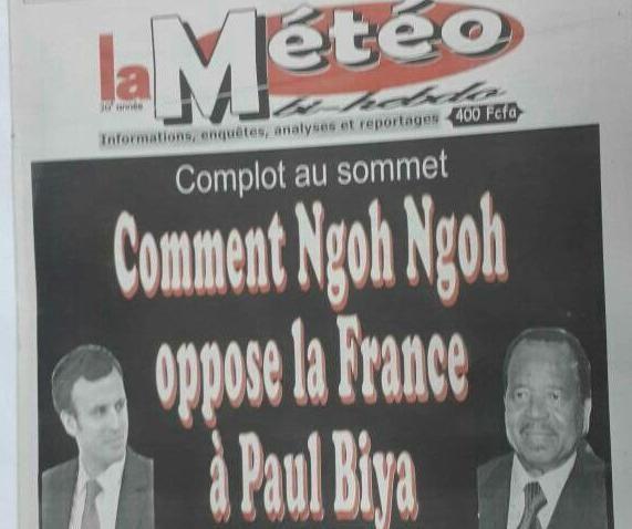 #Cameroun - Médias: Le journal « La Météo » sur la sellette: L'une des récentes publications du bihebdomadaire lui a valu d'être… #Team237