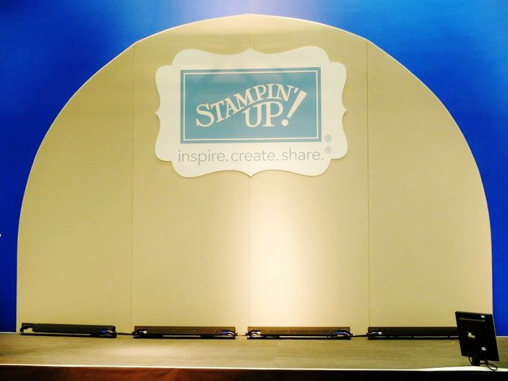 The stage is set! #stampinupuk #regional