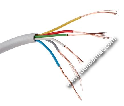 Cable Altavoz de 6 hilos 6x0.18 - | Tiendamat