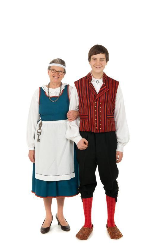 украшенный национальный костюм финнов картинки многих она стала