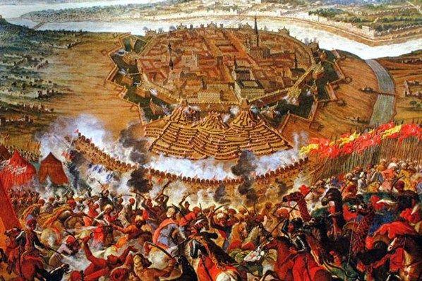 1529- Karel V verslaat de turken bij de poorten in Wenen-