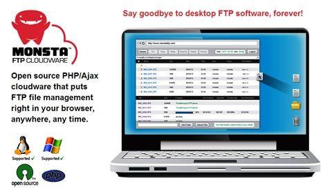 Monsta FTP: open source веб-приложение для работы с FTP