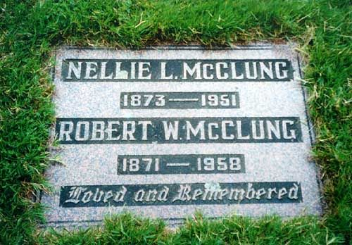 Nellie McClung Manitoba/ resident of Manitou, MB.