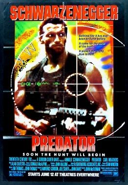 Predator (1987) One of the all-time classic science-fiction romps from the 80's...
