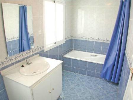 Photographic Gallery Mediterranean Blue Bathroom Ideas
