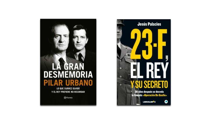 Los dos eBooks sobre el Rey Juan Carlos y el 23F que han llegado al Top 10 en Amazon España