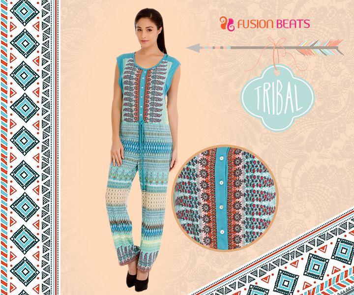 What happens when you mingle with fashion and native art?  You get splendid Tribal Mix from our Free Spirit collection. #TribalMix #SS15