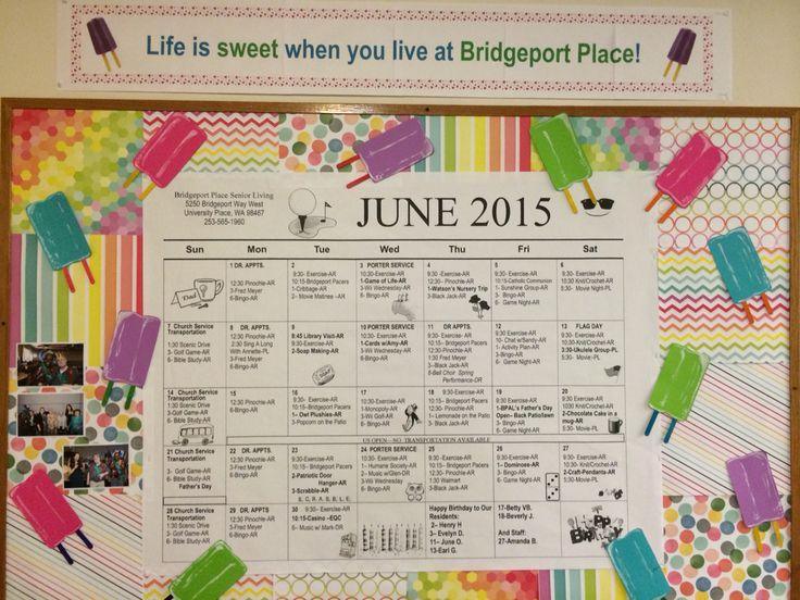 June Calendar Decorations : Best work bulletin boards holiday at the nursing