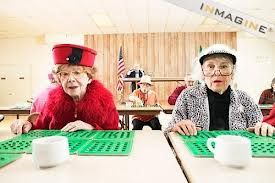 Old Ladies Playing Bingo Google Search Bingo Bingo
