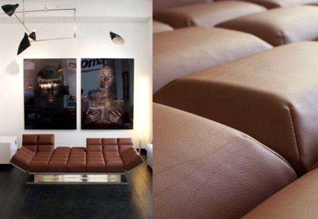 Kanapa wyglądająca jak tabliczka czekolady to pomysł niemieckiej projektantki Iris Koser