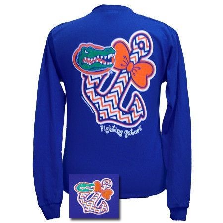 Long sleeve Florida Gators anchor T-shirt. 100% preshrunk cotton. More arriving soon!