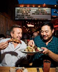 Daniel and David Chang are heavy hitters, but why make them the center of a food guide to Toronto? Surely there's more locally grown talent to spotlight.