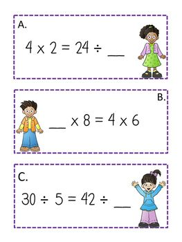 Balancing Equations Multiplication And Division Balancing Equations Multiplication And Division Basic Math Skills