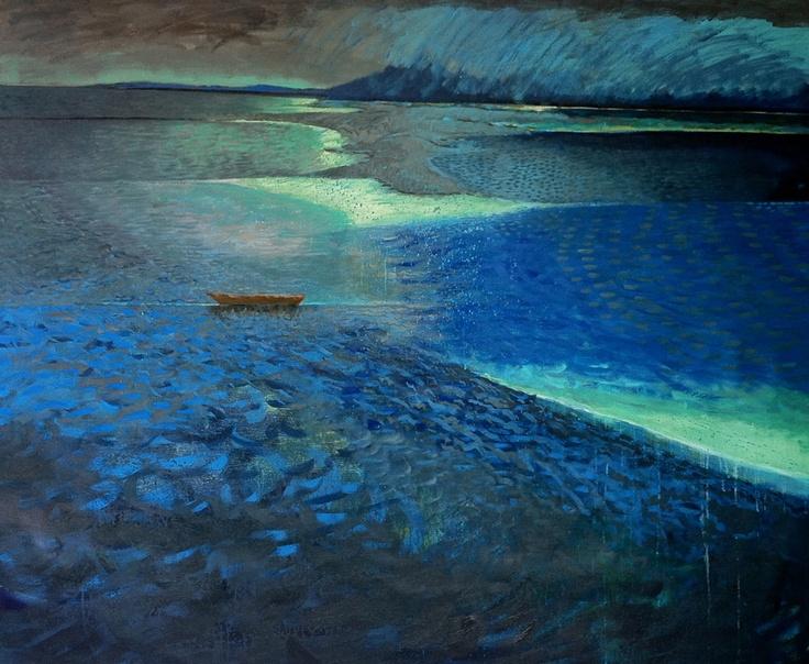 Stranded by Jennifer Marshall - painter - Tasmanian artist