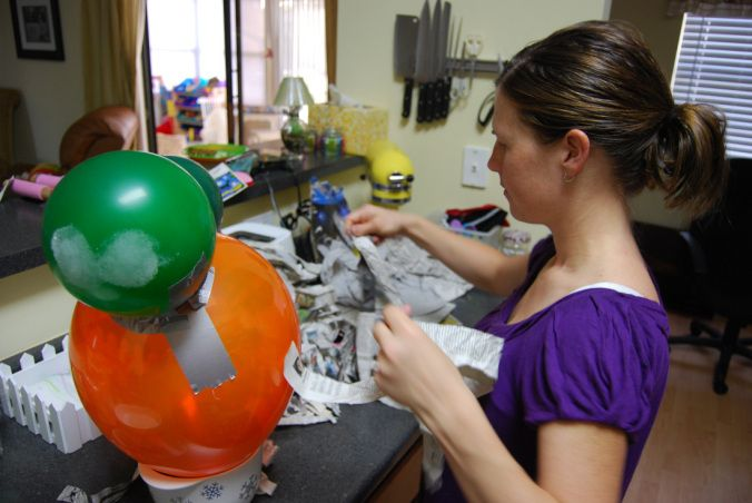 With another birthday just around the corner, I am vamping up for another fabulous homemade piñata! These are so easy to make. I guarantee whether or not you are a wiz at crafting, you will be able…