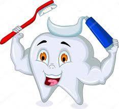 Resultado de imagen para dientes felices dibujos animados