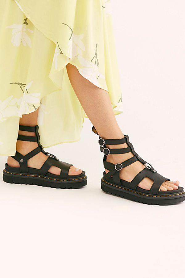 d9b50690b9c Dr. Martens Adaria Gladiator Sandal in 2019 | Shoes | Sandals, Dr ...