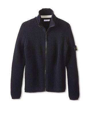 53% OFF Stone Island Kid's Knit Jacket (Blue)