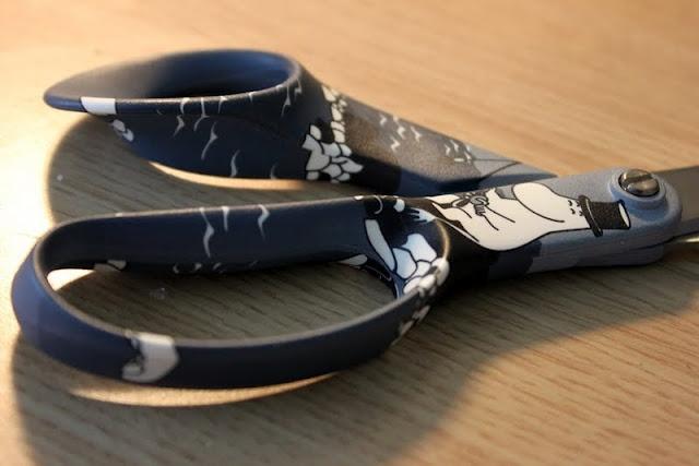Fiskars Moomin scissors.