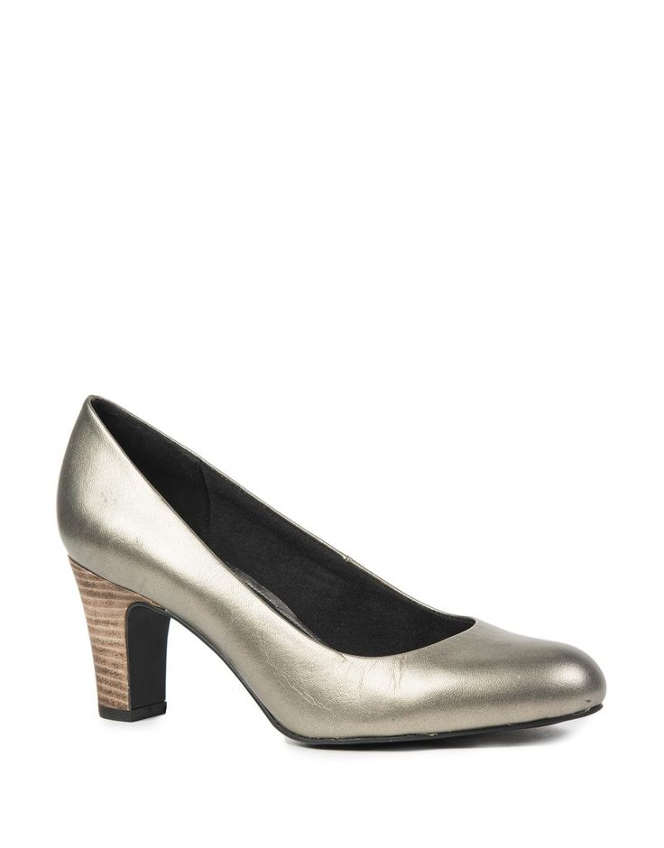 Soft & Flexy Leather Court Shoes