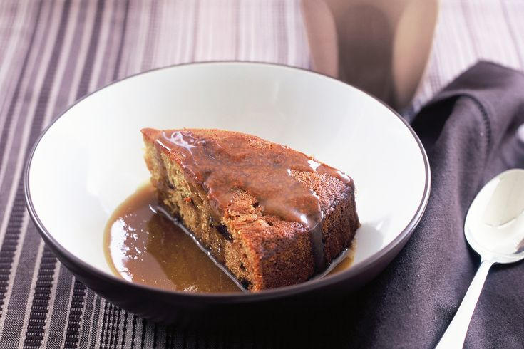 a sticky date pudding