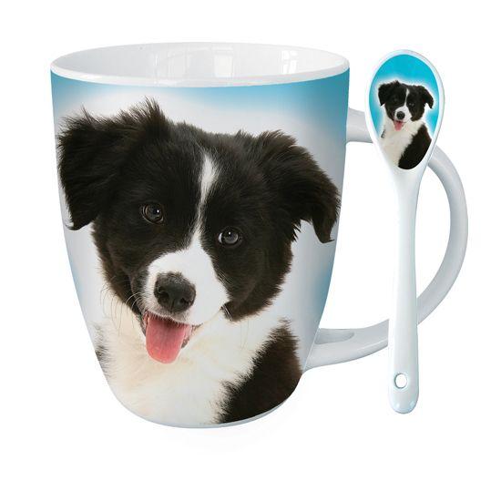 Border Collie Hot Chocolate Mug