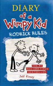 Rodrick Rules (Diary of a Wimpy Kid Series #2); Hardcover; Author - Jeff Kinney