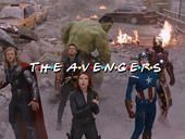"YouTube user Jeremiah Rivera put together an opening-credits scene for ""The Avengers"" fashioned after the ""Friends"" TV show, because the Avengers will be there for you when Ultron attacks the Earth."