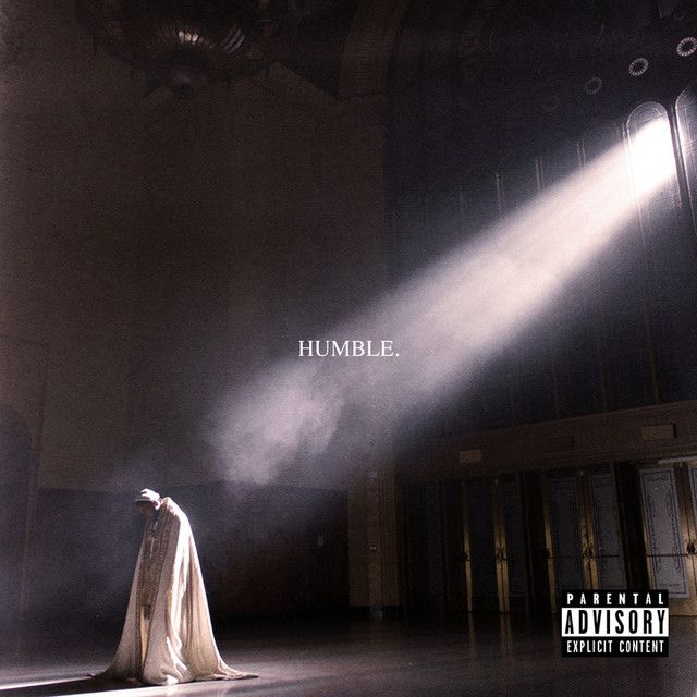 """""""HUMBLE."""" by Kendrick Lamar added to Today's Top Hits playlist on Spotify From Album: HUMBLE."""