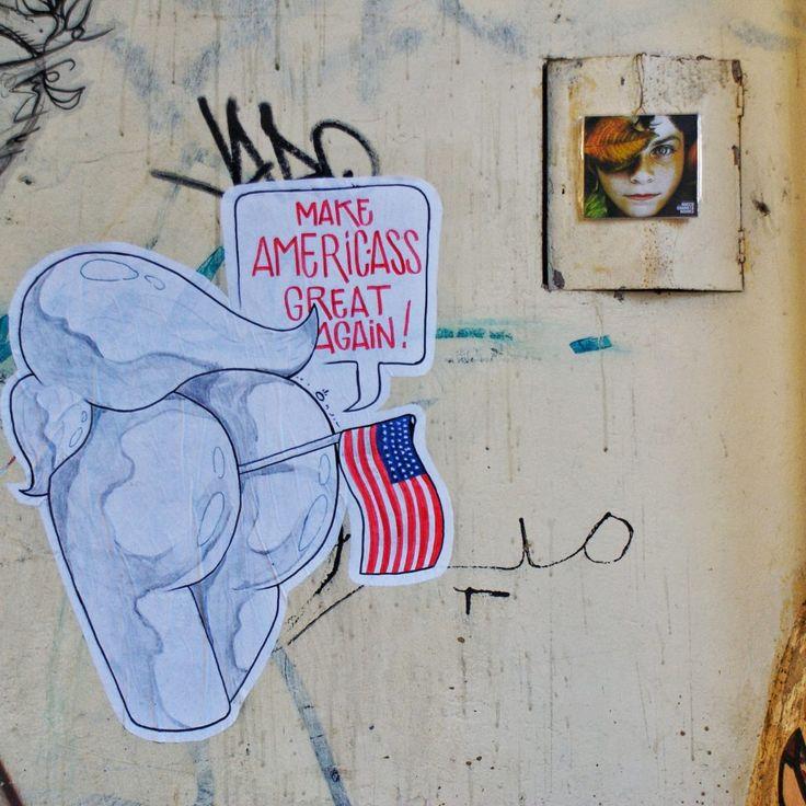 300 cd around the world!  Italy – Firenze – Via del gomitolo dell'oro – Cd 222/300 Firenze, Trump Make America Ass Great Again!