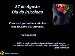 Você faz a Diferença: Dia do Psicólogo - 27 de Agosto