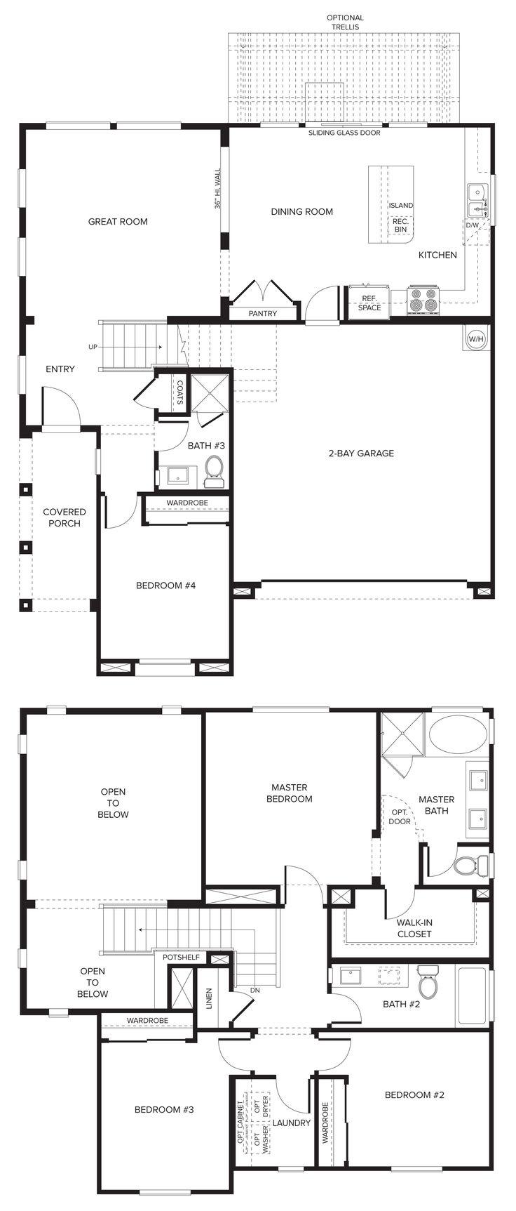 Sandstone plan 1 coming soon from pardee homes las vegas for Las vegas home floor plans