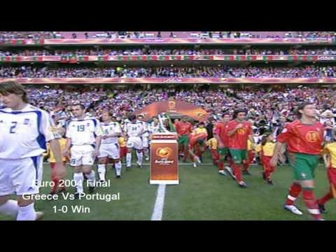 Euro 2004 **The Ultimate Underdogs** [Greece's Amazing Journey] / Whoever is Greek .. OR a Greek soccer fan.. they MUST MUST MUST watch this.. EPIC ! I just watched it for the 500th time and I got goose bumps all over...