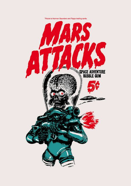 Chew On T H I S ! | #Mars Attacks - I'M NOT WORDY