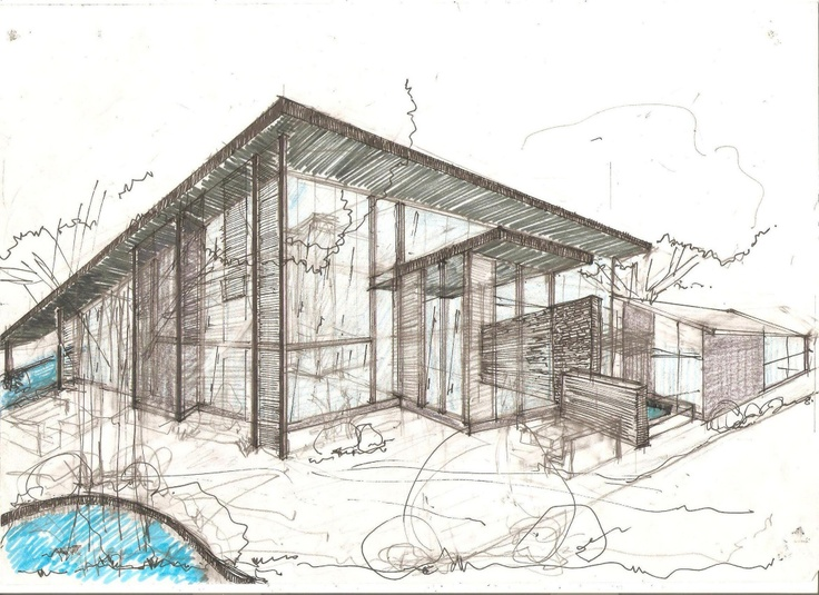 Architecture House Sketch 98 best sketch images on pinterest | drawings, architecture and