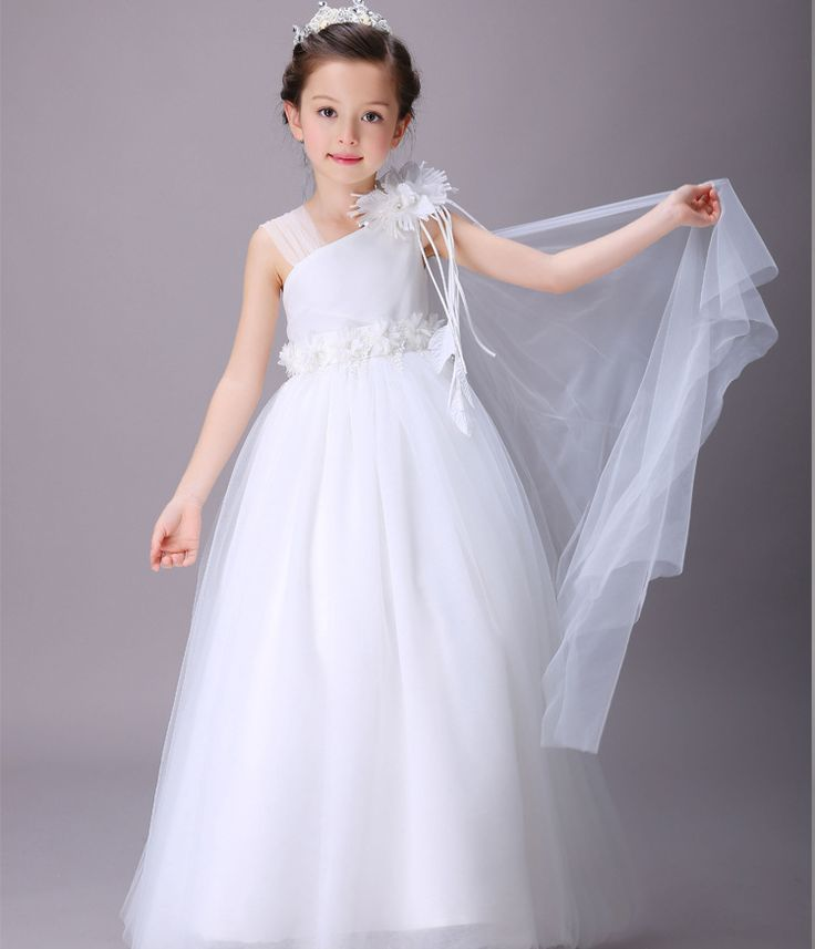 Aliexpress.com : Buy New Fashion Flower Girls Dresses Children Bridesmaid Dresses Girls Wedding Dresses Children Clothes Kids Performance Long Dress from Reliable dress paypal suppliers on Children,MOM,DAD,FAMAILY Store