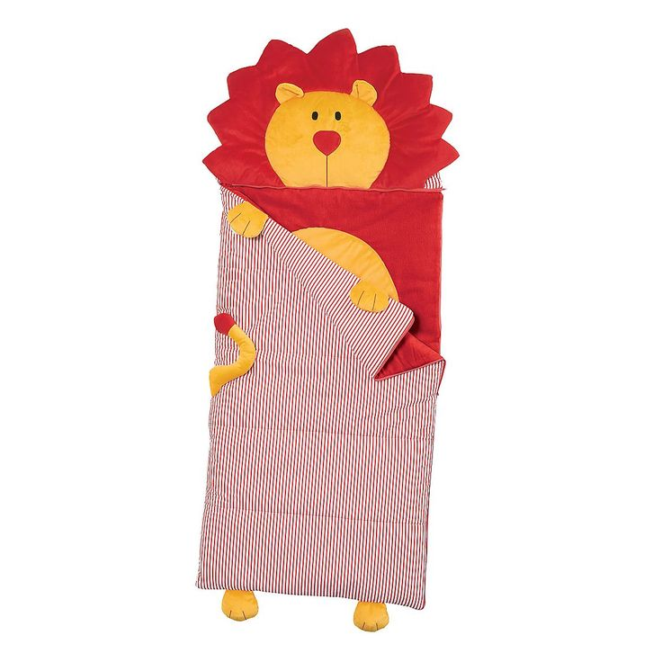 This lively sleeping bag will make sure your child has a roaring good time at all of their sleepovers!