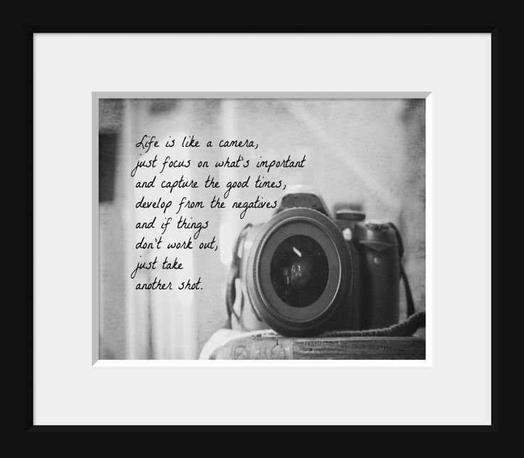 Photographic Memory Quotes: 17 Best Camera Quotes On Pinterest