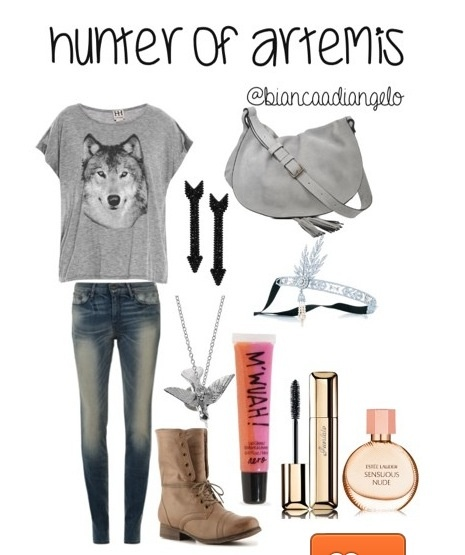 Hunter Of Artemis Outfit Percy Jackson Pinterest The