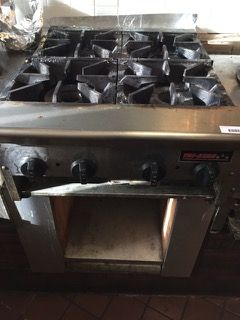 RESTAURANT EQUIPMENT TRI-STAR TRI-STAR STOVE, GAS BURNER, 24X31X31