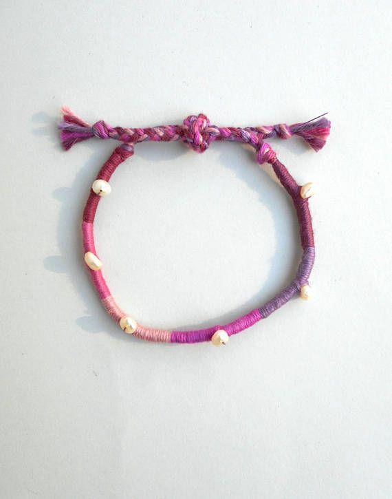 Pearls wrap bracelet Freshwater pearls Pearl bracelet Pearl