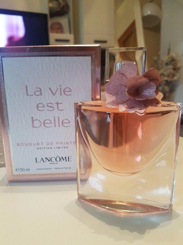 Lancome La Vie Est Belle Bouquet De Printems Seltene Limited Edition Von La Vue Est Belle Es Heisst La Vie Est Belle Bou Parfume Fragrance Fragrances Perfume