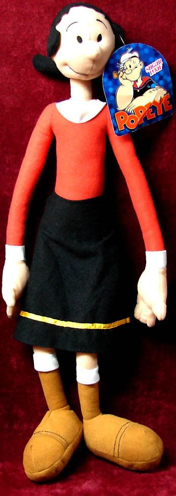 LARGE ©2012 KING FEATURES SYNDICATE OLIVE OYL POPEYE CARTOON CHARACTER TOY DOLL